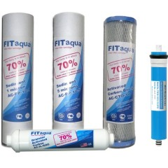 Pachet 4 filtre apa + Membrana osmotica