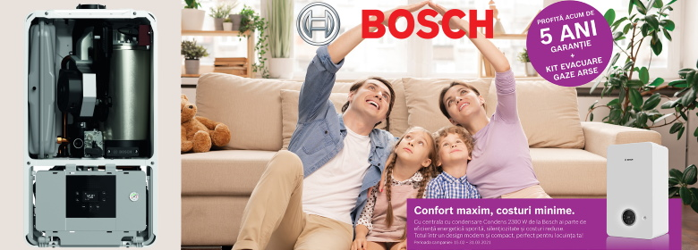 Centrala Bosch Condens 2300 W
