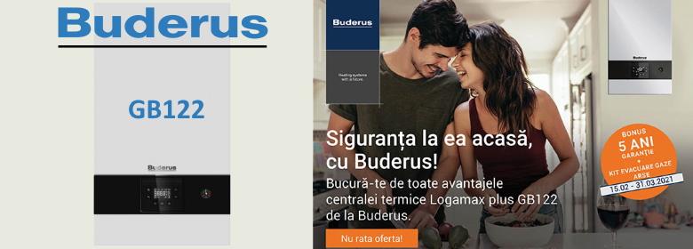 Buderus GB122 centrala termica 5 ani garantie