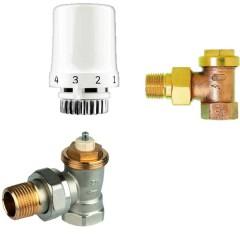 Set termostatic Thera6 ventil robinet retur