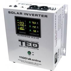 Invertor solar Ted 1100VA 12V