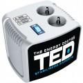 Stabilizator tensiune TED 100VA Professional silver