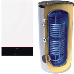 Centrala Vitodens 100-W 32 Boiler Tesy 300 solar