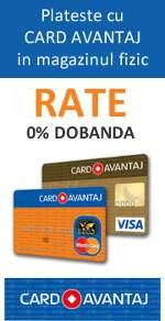 Card Avantaj Rate