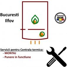 Montaj + PIF Centrala termica instant max 40 kW