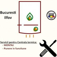 Montaj + PIF Centrala termica instant max 30 kW