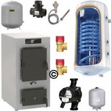 Cazan Vitoligno 100-S 30 Pachet Boiler 120