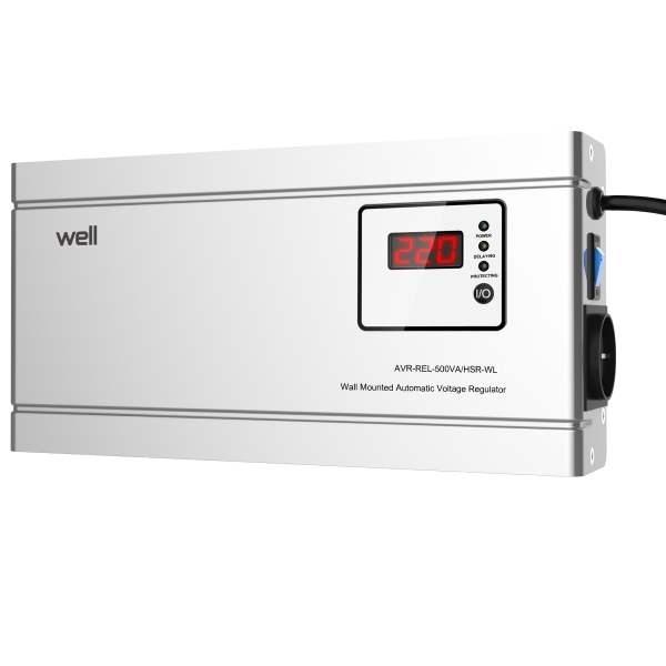 Stabilizator tensiune AVR-REL-500VA-HSR-WL