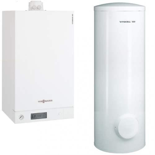Centrala Vitodens 100-W 35 +Boiler 300 solar